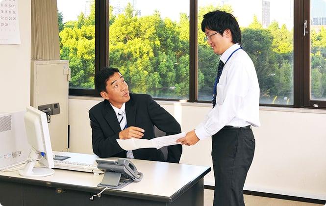 上司への報告